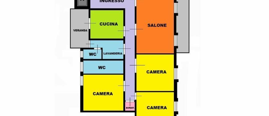 Appartamento in Vendita a Palermo (Palermo) - Rif: 27639 - foto 2